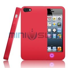 MiniSuit's new soft silicone case for Apple iPhone 5 features a unique 2 tone design! This innovative case protects with funky fresh function. Colors of the case and home button contrast to instantly give smart suaveness and style. Lightweight and d