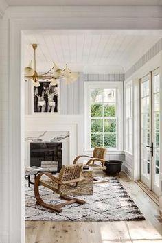 Textured modern living room