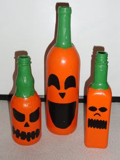 The rest of the pumpkin bottle crew