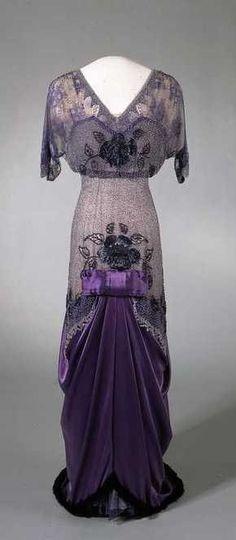 Queen Maud's Dress - 1913 - Victoria and Albert Museum
