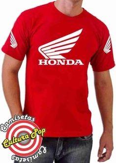 Camiseta Estampada motos Honda Asas da Liberdade. - comprar online