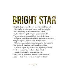 John Keats from Bright Star: Love Letters and Poems of John Keats ...