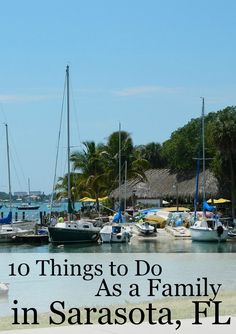 Things to do in Sarasota as a family. So many fun things to choose from!
