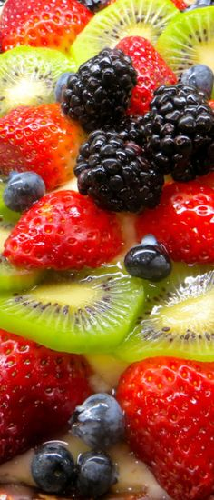 Fruit Tart - easy to make and really healthy!!