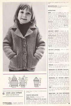Tout le tricot Vintage! | Madame Capucine
