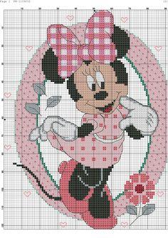 Foto Cross Stitch Fairy, Cute Cross Stitch, Cross Stitch Alphabet, Cross Stitch Kits, Cross Stitch Designs, Disney Stich, Disney Cross Stitch Patterns, Stitch Cartoon, Crochet Diagram