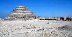 Art History - 400 C.E. Ancient Cultures - Ancient Egypt - Step Pyramid of Djoser at Saqqara - short reading/article