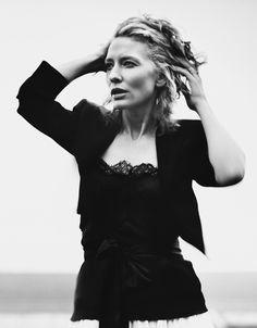 Cate Blanchett--she seems like she has guts.