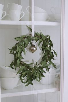 Aussie Christmas Wreath, Eucalyptus smells amazing. Lemon Myrtle even better!