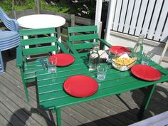 colour Picnic Table, My House, Colour, Life, Furniture, Home Decor, Color, Decoration Home, Room Decor