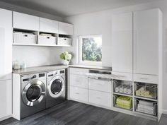 Organize your laundry room with custom cabinets and shelves designed by California Closets. Get inspired by our laundry room storage ideas and designs. Schedule a free consultation today! Laundry Room Closet, Room Design, Laundry Mud Room, Basement Laundry Room, Room Remodeling, Room Closet, Laundry, Room Storage Diy
