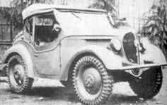 Japanese Army Type 95 Kurogane scout car, date unknown