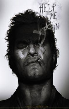 John Constantine by Adnan Ali. #comics #art