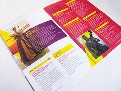 92Y Tisch Concerts Single Ticket Brochure 2012/13 by Christie Morrison, via Behance #color #brochure #layout