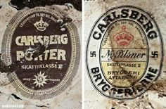 https://flic.kr/p/m9ViE9 | La croix gammée avant les nazis - Brasseur Carlsberg