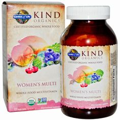 My Blissful Journey: KIND Organics - Organic Whole Food Multi Vitamins for Women - First Impressions
