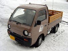 Small Trucks, Mini Trucks, Mini 4x4, Suzuki Carry, Kei Car, Daihatsu, Minivan, Japanese Cars, Car Photos