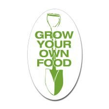 GROW YOUR OWN FOOD Decal