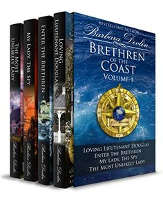 Brethren of the Coast Set Volume 1: four historical romance books by Barbara Devlin