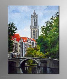 Schilderij Utrecht ART
