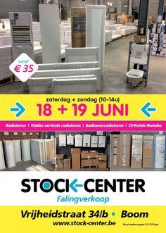 Falingverkoop Stock-Center -- Boom -- 18/06-19/06