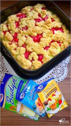 Ciasto z truskawkami i budyniem (kruche) (2) Oatmeal, Health Fitness, Healthy Eating, Breakfast, Recipes, Beach Bum, Baking Ideas, Food, The Oatmeal