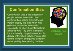 This Pin was discovered by Joseph Robredo Jr (INTJ). Behavioral Economics, Behavioral Science, Hindsight Bias, Confirmation Bias, Logical Fallacies, Cognitive Bias, Interesting Information, The More You Know, Neuroscience