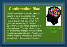 Cognitive Bias - Confirmation Bias