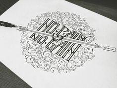 No Pain, No Gain by Quan Vu