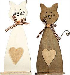Výsledek obrázku pro dřevěné kočky