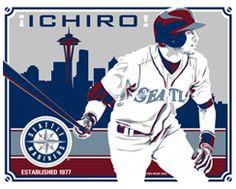 Ichiro. Seattle Mariners.