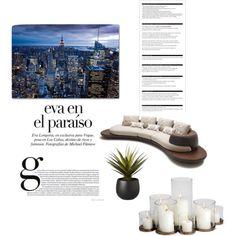 City view by elizabeth-b-a on Polyvore featuring polyvore interior interiors interior design home home decor interior decorating CB2 Arche Edition