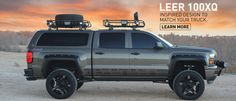 ram 1500 leer 100xl | PHOTO AND VIDEO GALLERY New Trucks, Chevy Trucks, Z71 Truck, Custom Trucks, Leer Truck Caps, Chevy Silverado 2500, 2014 Silverado, Chevy 1500, Truck Canopy
