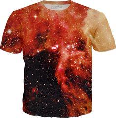 Magnetic Cloud | Universe Galaxy Nebula Star Clothes | Rave & Festival Shirt