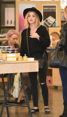 Lucy Hale was pictured as she shopping at Barnes and Noble and Urban Outfitters in Studio City http://celebs-life.com/lucy-hale-pictured-shopping-barnes-noble-urban-outfitters-studio-city/ #lucyhale
