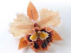Орхидея из бисера пошаговая схема. Орхидея из бисера своими руками | Домоводство для всей семьи