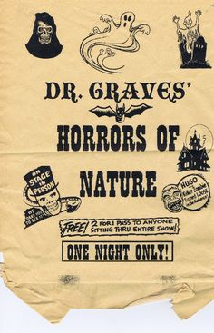 Dr. Graves' Horrors of Nature