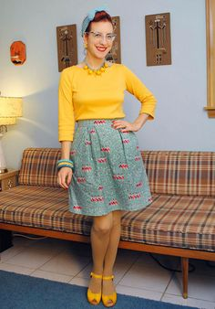 A Coco and a Can-Can: Tilly and the Buttons Coco top and Can-Can dancer skirt  | By Gum, By Golly #sewing
