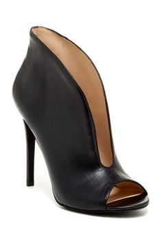 Open Toe Bootie.. If I could actually wear AND walk in heals I would be all over this one!! Super sexy!!!