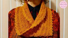 Bufanda infinita básica a crochet con la técnica Moebius, paso a paso Crochet Scarves, Neck Warmer, Knitting, Crochet Things, Akira, Scarfs, Youtube, Fashion, Infinity Scarf Outfits