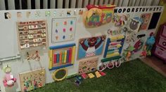 DIY sensory board …