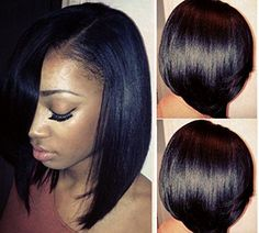 Searching for affordable So Bob in ? Buy high quality and affordable So Bob via sales. Enjoy exclusive discounts and free global delivery on So Bob at AliExpress Black Women Short Hairstyles, Straight Hairstyles, Short Hair Cuts For Women Bob, Relaxed Hairstyles, The Maxx, Natural Hair Styles, Short Hair Styles, Look 2015, Hair Laid