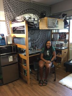 Michigan State University Dorm Room. Part 71