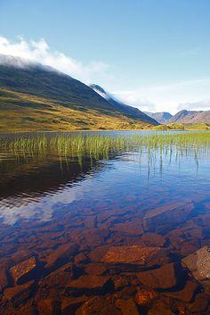 Loch Beannacharain, Strathconon, Highlands, Scotland.