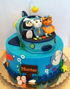 Octonauts!  Cake by res3boys
