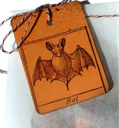 Halloween rubber stamp / Cute bat stamp / Unmounted by MAKIstamps, €4.20