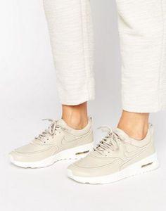 Nike Air Max Thea Ultra Premium Sneakers In Beige