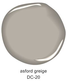 Asford Greige DC-20, from the @darrylcarter by Benjamin Moore