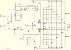 800W high power mosfet amplifier Schematic Diagram - schematic