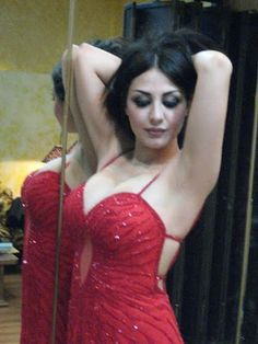 Middle eastern curvy beauty makes her porn debut 9